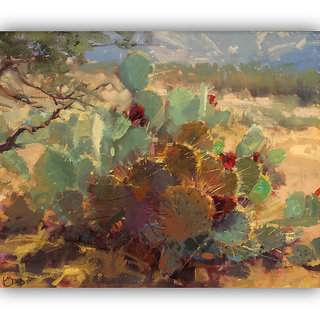 Vitalwalls Landscape Painting Canvas Art Printon Wooden Frame.Scenery-435-F-30cm