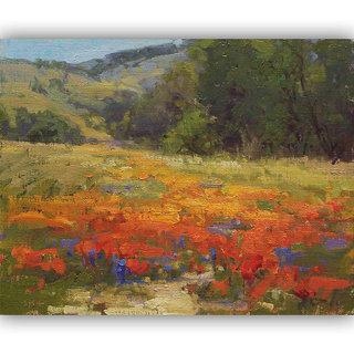 Vitalwalls Landscape Painting Canvas Art Printon Wooden Frame.Scenery-447-F-30cm