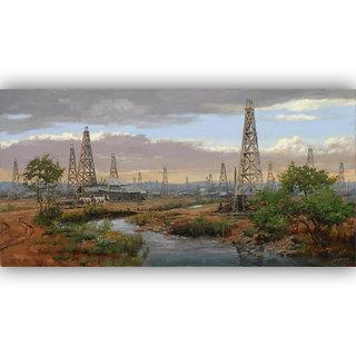 Vitalwalls Landscape Painting Canvas Art Print.Scenery-448-30cm