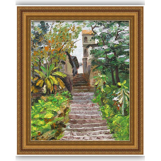 Vitalwalls Landscape Painting Canvas Art Print.Scenery-505-45cm