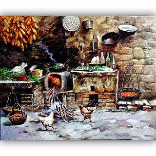 Vitalwalls Landscape Painting Canvas Art Print.Scenery-510-60cm
