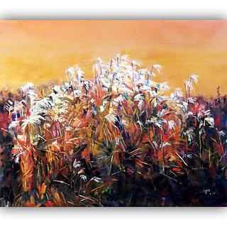 Vitalwalls Landscape Painting Canvas Art Printon Wooden Frame.Scenery-512-F-60cm