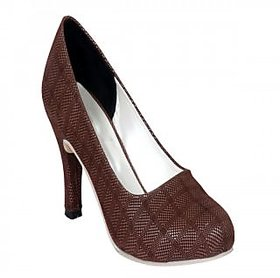 Funku Fashion Women's Brown Heels