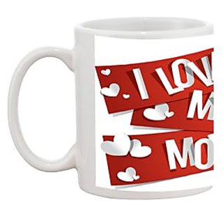 TIA Creation I Love My Mom Gift Coffee Mug