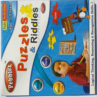 PUZZLES  RIDDLES ... (3-5YEARS)
