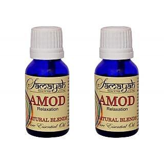 Samayah Hand Made Aroma Oils Amod (Fushion) Set of 2