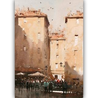 Vitalwalls Landscape Painting Canvas Art Printon Wooden Frame.Scenery-661-F-60cm