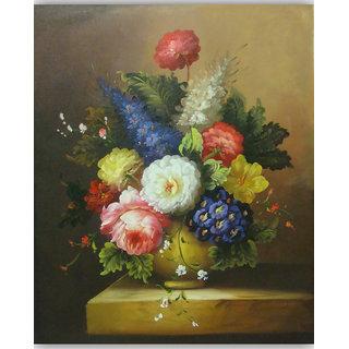 Vitalwalls Still Life Painting Canvas Art Print.Static-084-60cm