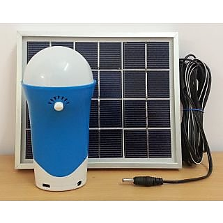 Shop 3 Watt Portable Solar Lamp With Mobile Charger Online