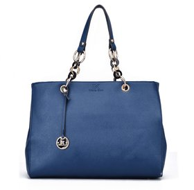 Diana Korr Blue Shoulder Bag DK37HBLU