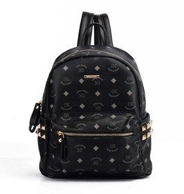 Diana Korr Black Back Pack DK63HBLK