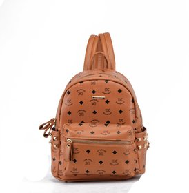 Diana Korr Brown Casual Fabric Backpacks DK63HBRW