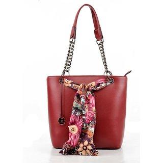 Diana Korr Red Shoulder Bag DK26HRED