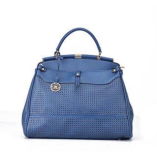 Diana Korr Blue Hand Bag DK34HDBLU