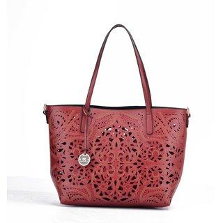 Diana Korr Red Shoulder Bag DK64HRED