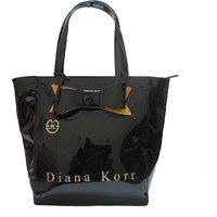 Diana Korr Black Shoulder Bag DK43HBLK