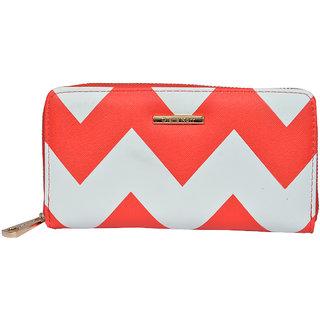 Diana Korr White  Red Wallet DKW16RABST
