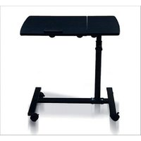 NearDealz Metal Frame Laptop Folding E-Table With Mouse Stand And Wheel - MTLTAB