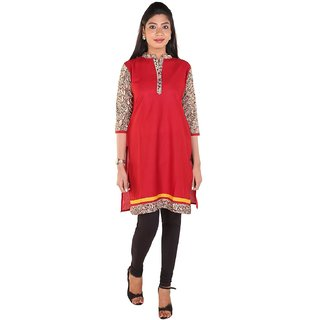 Online Aceesories Cotton Comfort Embroidered Women's Straight Kurta