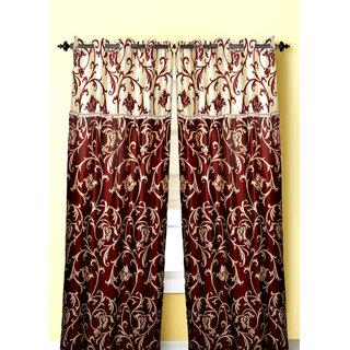 beautiful door curtain with frill(4x7 feet)