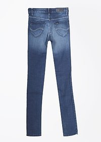 Lee Skinny Fit Fit Womens Jeans Cotton Blend Color Blue