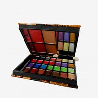 Abdeni Lijindie Multi Color Makeup Kit-With Free Mars Eye/Lipliner - (No of units 1)