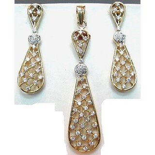 pendant set american diamond,delicate and sober (special lowest price)