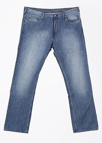Abbas Men Slim Fit Blue Jeans
