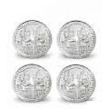 Silver Coin 5 Gms Each (Pack Of 4)