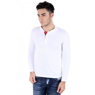big idea smart white Henley t-shirt