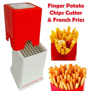 Plastic Finger Potato Chips Cutter French Fries