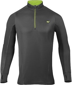 Wildcraft Solid Mens Round Neck 100 Recycled Polyester T-Shirt