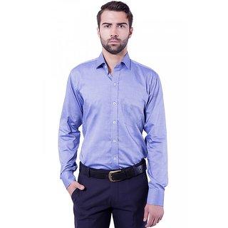 Formal Shirt Blue Color Slim Fit for Men
