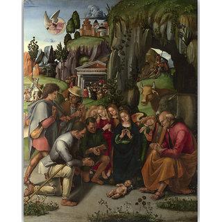 Vitalwalls Landscape Canvas Art Print Religion-234-30cm