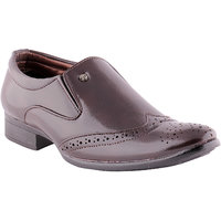 Shoe Island Brouge Brown Formal Shoes