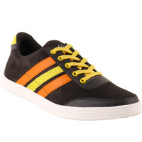 Shoe Island FX Black Casual Shoes
