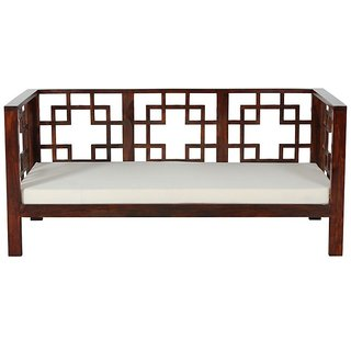 Buy Three Seater Wooden Sofa Online 20000 From Shopclues