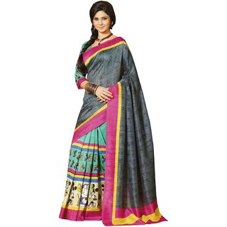 Sudarshan Silk   pearl  Collections-Black-SUT10916-VT-Georgette