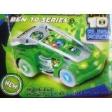 Ben10 Super Racing Car With Flash Light Wheel And Sound Gift Toy For Kids