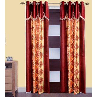 JMT Set of 2 Designer Door Curtain HZCN0700523