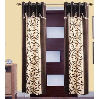 JMT Set of 2 Designer Door Curtain HZCN0700583