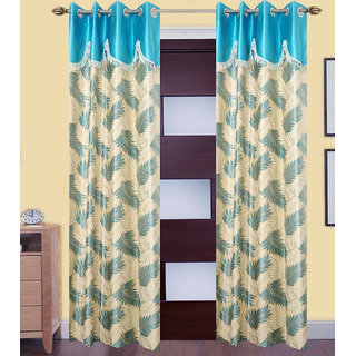 JMT Set of 2 Designer Door Curtain HZCN0700687