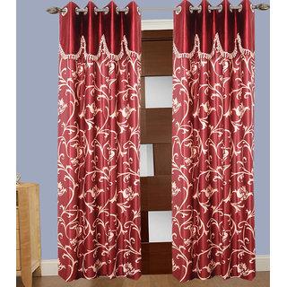 JMT Set of 2 Designer Door Curtain HZCN0700728