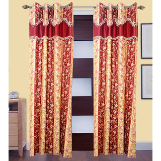 JMT Set of 2 Designer Door Curtain HZCN0700673