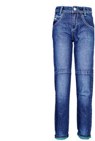 Tales & Stories Dark Chunky Stitch Jeans  (8-14)