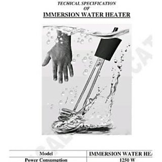 Indoma Littlehome Shock/waterproof Immersion water heater Rod