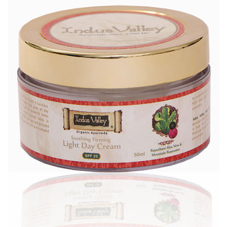 Indus valley Rajasthani Aloe Mountain Rose Soothing  Firming Light Day Cream