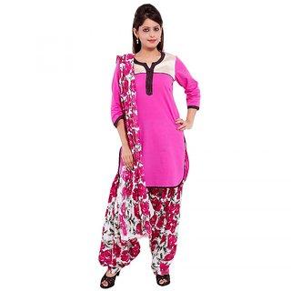 Decot Paradise Self Design Straight Full Cotton Ethnic Suits