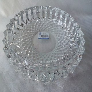 Table Decor Crystal Ash Tray Large