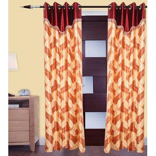JMT Set of 2 Designer Door Curtain HZCN0700744